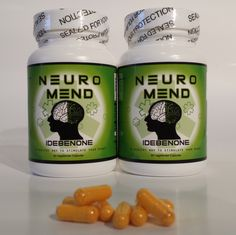 ... in Neuro Mend® Idebenone Double Smart Pack (120ct) . ← Previous Increase Your Mental Power at http://FailedMemory.com