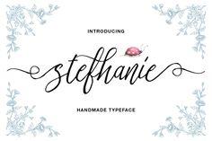 Stefhanie Typeface by QueenType on @creativemarket