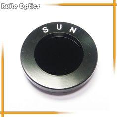1.25inch Astronomic Telescope Optical Solar Sun Filter Inch Fine Screw Thread Astronomical Telescope Accessories AstroSolar