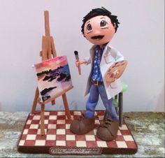 Fofucho pintor de gomaeva  http://fofuchasnuki.blogspot.es/