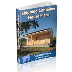 Shipping Container House Plans DIY Intermodal Home and Office BluePrints | best stuff