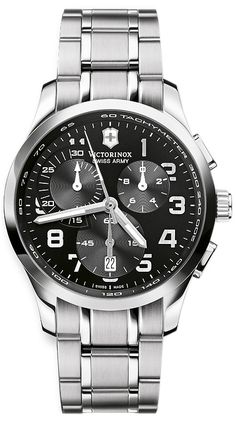 eafaf23e127 Swiss Army Alliance Chronograph Mens Watch Model  V251295 Army Men
