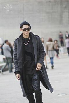 Seoul Fashion Week 2015 S/S Street style!!!   #model #offduty / Park Hyeong Seop 박형섭