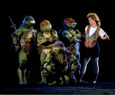 Teenage Mutant Ninja Turtles (1990)-Such an awesome movie, it was a perfect film debut for the TMNT!