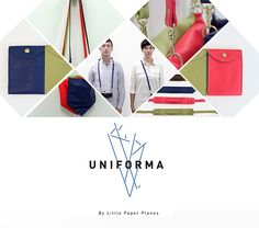 Thanks Design Crush for posting about UNIFORMA!