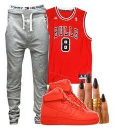 """this is one of my friends out fits follow her"" by love04444 ❤ liked on Polyvore"