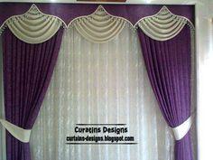 embossed purple curtain and draperies, purple windows treatment