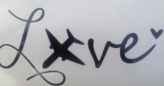 Airforce LOVE car decal Military pride USAF mom girlfriend wife fiance on Etsy, $10.00