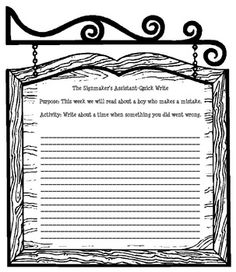 A Quick Write is short (3-5 minutes)! This activity gets the kids thinking about writing and allows them to focus on a lesson or idea! I created th...