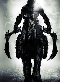 Darksiders 2 The Corruption Soundtrack HD (Baum des Lebens) Darksiders Horsemen, Darksiders Death, Darksiders Game, Fantasy Images, Dark Fantasy Art, Final Fantasy, Clowns, Helloween Wallpaper, Dark Sider
