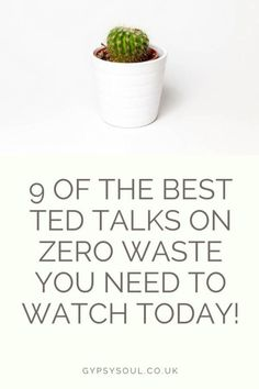9 of the Best Ted Talks on Zero Waste You Need To Watch Today! - Gypsy Soul - Mallory Perry - 9 of the Best Ted Talks on Zero Waste You Need To Watch Today! - Gypsy Soul 9 of the best ted talks on zero waste you need to watch today! Zero Waste, All You Need Is, Best Ted Talks, Eco Friendly House, Natural Living, Organic Living, Sustainable Living, Sustainable Energy, Sustainable Fashion