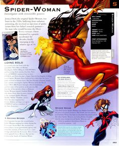 Marvel Encyclopedia - Spider-Woman