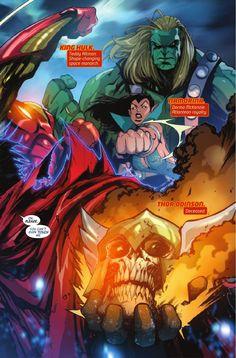 Preview: New Avengers #5, Story: Al Ewing Art: Gerardo Sandoval Cover: Gerardo Sandoval Publisher: Marvel Publication Date: January 20th, 2016 Price: $3.99    Ca...,  #AlEwing #All-Comic #All-ComicPreviews #Comics #GerardoSandoval #Marvel #NewAvengers #previews