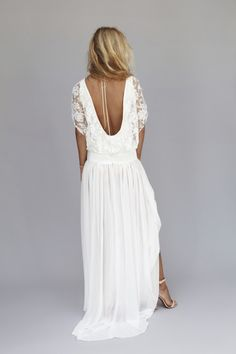Lux wedding dress by Rime Arodaky at The Mews Bridal Notting Hill