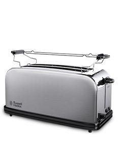 réchauffement rack Bodum Bistro Grille-Pain 2 Fentes-Blanc réglable en largeur