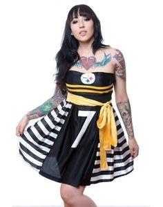 football jersey dress - Google Search Steelers Gear, Pittsburgh Steelers Football, Football Jerseys, Steelers Stuff, Sports Jerseys, Football Fans, Dallas Cowboys, Football Jersey Dress, Womens Sports Fashion
