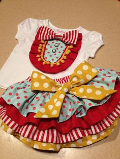 Circus Birthday Set Ringmaster outfit by AStitchInTimeCouture, $70.00