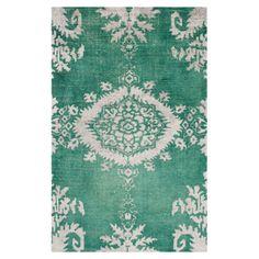lovely color. lovely rug.