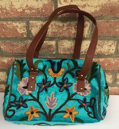 Electric-blue Short-strap Bag