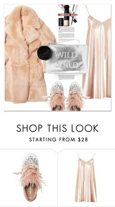 """Faux Fur"" by dragananovcic ❤ liked on Polyvore featuring Miu Miu, Boohoo, Victoria's Secret and Miss Selfridge"