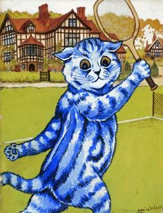 Who´s For Tennis | Louis Wain