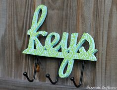 Key Holder is a must in a home!!!