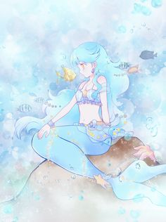 tear Anime Mermaid, Mermaid Art, Arte Sailor Moon, Mermaid Melody, Mermaid Drawings, Female Character Design, Merfolk, Mythical Creatures, Kawaii Anime