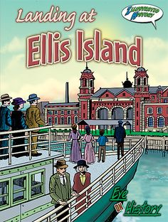 - Landing at Ellis Island, Length: 32 Pages, Grade - Grade, Read graphic history and experience immigrating to America through Ellis Island. 5th Grade Social Studies, Teaching Social Studies, Pioneer Life, Leveled Readers, National Geographic Kids, Best Children Books, Kids Study, Ellis Island, Teaching Reading
