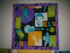 ELVIS PRESLEY MUG MAT AND 4 COASTERS & FREE  1 EXTRA=5 100% COTTON HANDMADE  PLEASE VISIT MY ETSY, EBAY,INSTAGRAM, PINTEREST  SITES FOR QUILTING, FABRIC, VINTAGE ITEMS, CROCHET, ETC.  http://www.etsy.com/shop/QuiltingbyDiamanti http://stores.ebay.com/rpmdtm instagram:quiltingbydiamantiandmore