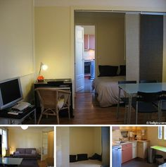 Furnished studio in Paris at Boulevard Suchet in the 16th administrative district of the city. This is a nice modern apartment for stay in a very good quarter of Paris.