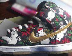 """Black Christmas Sweater"" Nike SB Dunk Hi x CNCPTS (First Look)"
