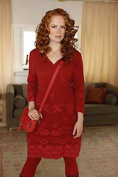 Deerberg Kleid Juliane, rot - Kleider - Deerberg 139,90