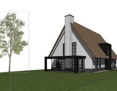 Landelijke moderne woning, meer projecten en architectuur bekijken www.bongersarchitects.nl