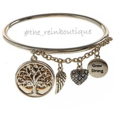 Grow Strong Bracelet · The Rein Boutique · Online Store Powered by Storenvy