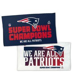 Wincraft New England Patriots Super Bowl LI Locker Towel at The Paper Store