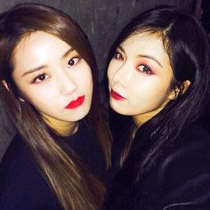 hyuna and gayoon *-* #4minute
