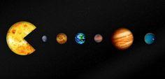 The #Pac-Man #solar system #lol