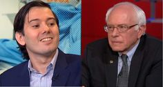 Bernie Sanders rejects donation from 'poster boy for drug company greed' Martin Shkreli