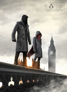 OUR ASSASSIN'S CREED SYNDICATE COLLECTION-- Meet Jacob and Evie Frye, master assassins. Their signature coats combine toughness and durable materials for occasional brawls in a local pub with elegant cut and style to blend in on the streets of victorian London. https://www.musterbrand.com/collections/assassin-s-creed/syndicate-collection