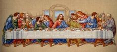 Lord's Supper Cross Stitch Pattern | Free Stuff: Last Supper Cross Stitch Pattern - Listia.com Auctions for ...