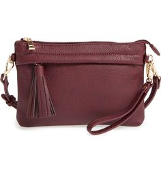 Sole Society 'Wilson' Shoulder/Crossbody Bag available at Deep Autumn Makeup, Satchel, Crossbody Bag, Fall Bags, Style Challenge, Purse Styles, Vintage Glamour, Clutch Purse, Diy Clutch