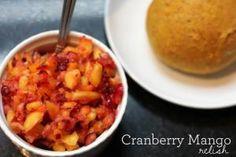 FitnFoodie.com - Recipe - Cranberry Mango Relish
