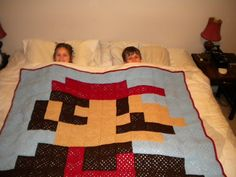 Ravelry: Granny Square Mario Bedspread pattern by Russ McAllister