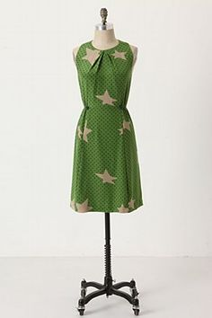 I love stars, and this dress is really cute. Too bad it's silk.