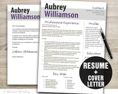 classy design resume template cover letter by businessbranding - Professional Cover Letter For Resume