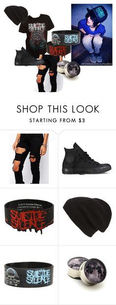 """""""SS Boy"""" by babycakesgiggles ❤ liked on Polyvore featuring Liquor n Poker, Converse, Phase 3, women's clothing, women's fashion, women, female, woman, misses and juniors"""