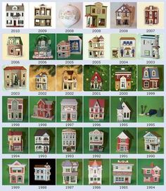 Hallmark ornaments - Nostalgic Houses and Shops Series Old World Christmas, Blue Christmas, Christmas Design, Christmas Home, Vintage Christmas, Christmas Villages, Christmas Stuff, Christmas Crafts, Merry Christmas
