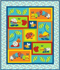 Bugs-a-lot Quilt Pattern