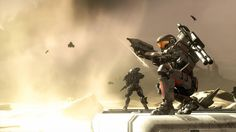 The Halo Universe is bigger than ever with entries on everything from weapons and vehicles to characters and location. Odst Halo, Halo Backgrounds, Pokemon, Red Vs Blue, I Am Game, Spaceship, Transformers, Futuristic, Infinity