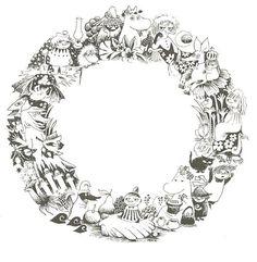 Moomin wreaths